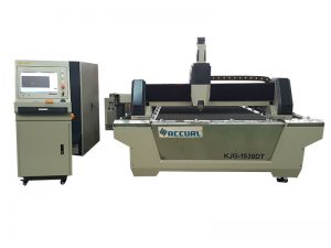 Máquina de corte do laser da fibra da folha de metal 750w para o processo de aço inoxidável