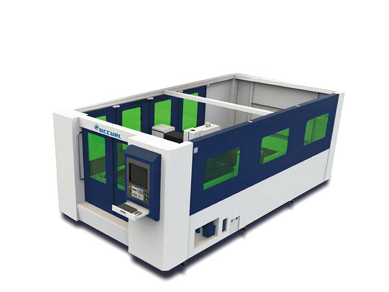 máquina de corte de folhas a laser