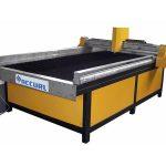 baixo custo de aço / aço inoxidável cnc plasma máquina de corte de metal / cnc corte de plasma de metal