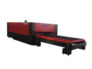 Folha de metal 500w-3000w de aço inoxidável / tubulação / tubo de metal máquina de corte a laser