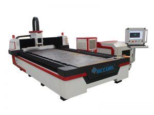 Cortador do laser do metal do cnc da máquina de corte do laser da fibra do cnc de 3 linhas centrais para o aço suave de 32mm