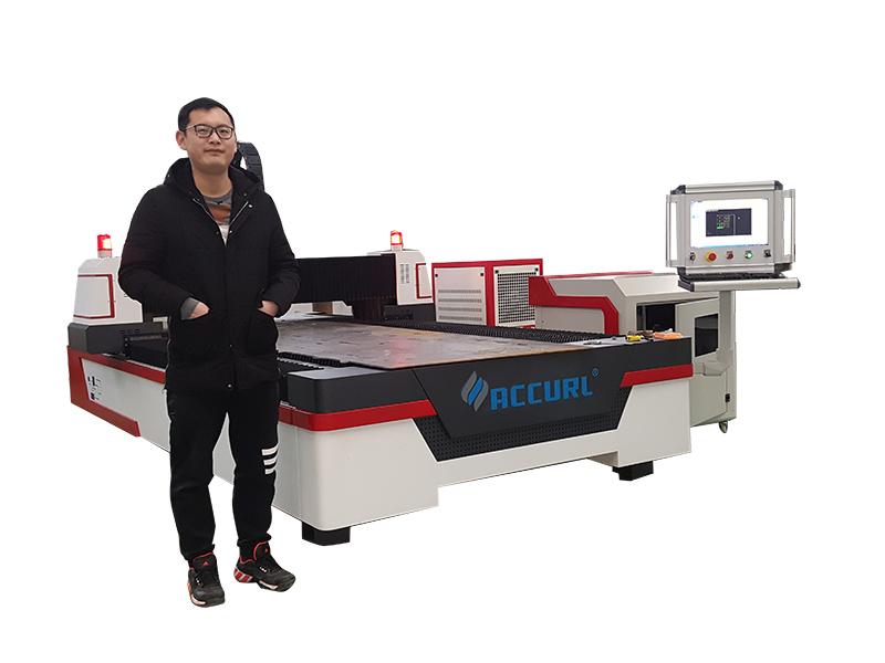máquina de corte a laser de tubo de metal