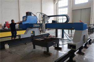 fabricante profissional de plasma cnc / máquina de corte de chama na china