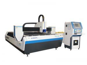 máquina de corte quadrada galvanizada do tubo do laser da fibra da tubulação com comprimento de 6m