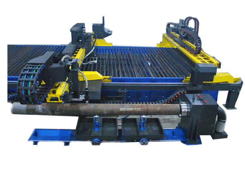 máquina de corte de tubos de aço