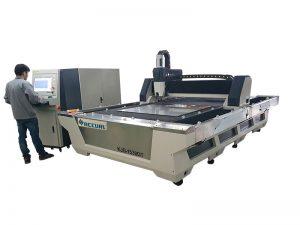 Fornecer serviço ultramarino de corte de fibra tubo / máquina de tubo com 3 anos de garantia