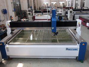 Máquina de corte por jato de água para corte de vidro com certificação CE TUV ISO9001 aplicada aplicada Padrão